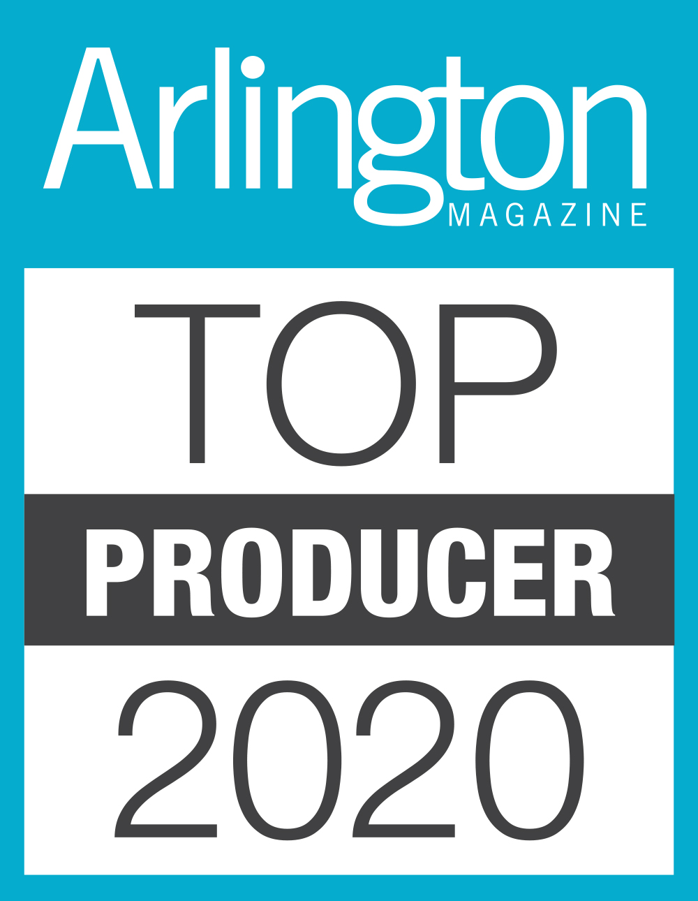 Arlington Top Producer 2020